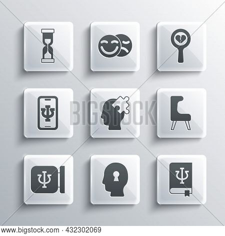 Set Solution To The Problem, Psychology Book, Psi, Armchair, Psychology, , Psychologist Online, Old