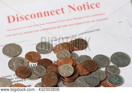 Disconnect Notice From A Rural Texas Electric Cooperative Association And Notice Of Rate Increase Se