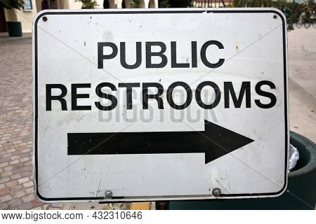 Sign. Public Restrooms. Bathroom sign. Bath Room. Public Restroom sign. public bathroom sign.