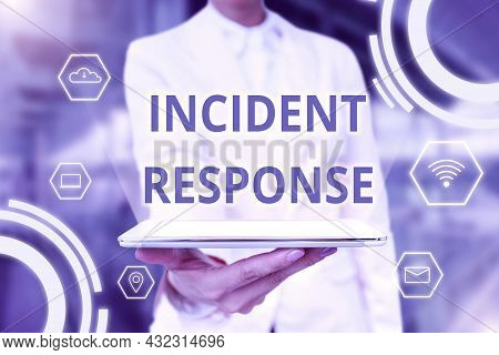 Conceptual Caption Incident Response. Concept Meaning Addressing And Managing The Aftermath Of A Sec