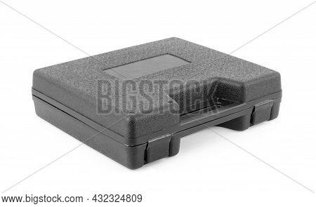 Black Case Isolated On White Background Elegance, Forward, Open, Cargo, White, No, Horizontal