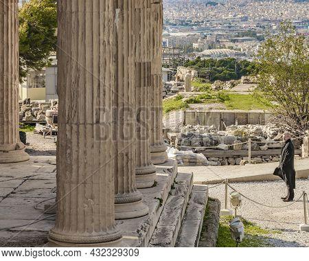 Acropolis Site, Athens, Greece
