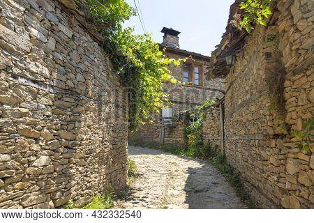 Village Of Leshten With Authentic Nineteenth Century Houses, Blagoevgrad Region, Bulgaria
