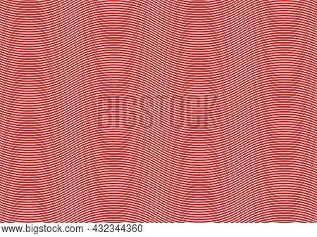 Graphics Design Red Line Curve Texture Background Pattern Wallpaper Vector Illustration