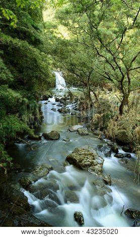 Waterfall On Road To Hana