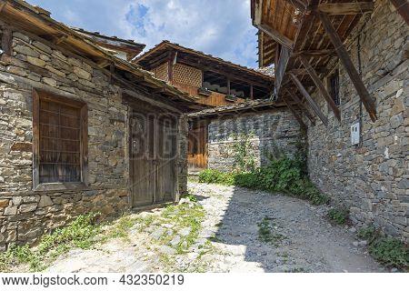 Village Of Kovachevitsa With Authentic Nineteenth Century Houses, Blagoevgrad Region, Bulgaria