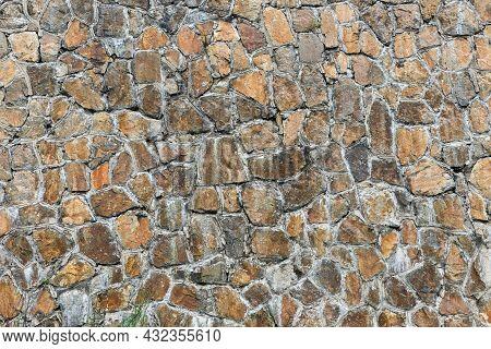 Stone Wall Background. Wall Masonry, Stone Texture.