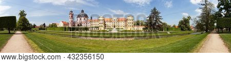 Jaromerice Nad Rokytnou Baroque And Renaissance Palace From 18th Century, South Moravia,  Czech Repu