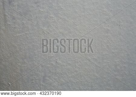 Shabby Matte White Paint With Cracks - Flat Close-up Full Frame Textured Background