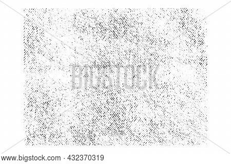 Cracked Grunge Urban Background With Rough Surface. Dust Overlay Distress Grained Fabric Texture. On