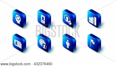 Set Mobile With Resume, Create Account Screen, Productive Human, Location Marker, User Of, Globe And