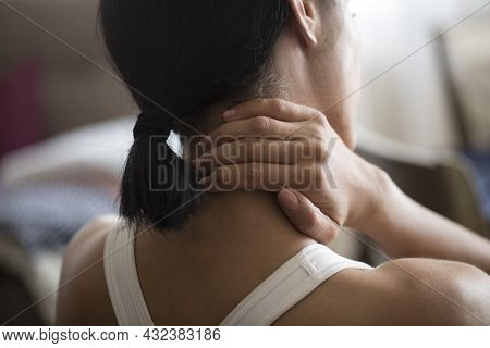 Pain In The Shoulder. Upper Arm Pain, People With Body-muscles Problem, Healthcare And Medicine Conc