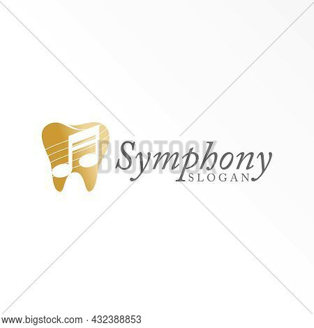 Dental Free Logo Vector Stock. Not Song Abstract Design Concept. Can Be Used As A Symbol Related To
