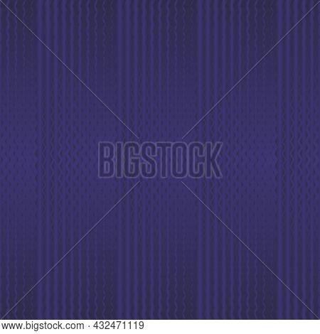 Purple Zigzag Seamless Pattern. Pantone Rhodonite. Vector Illustration