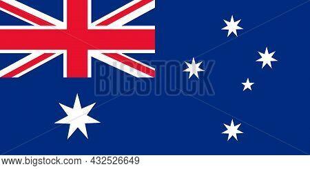 Australia National Flag An Island In The Southern Hemisphere