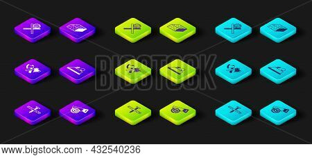 Set Metallic Nail, Hand Saw And Log, Wooden Axe, Plane Tool, Beam And Logs On Stand Icon. Vector