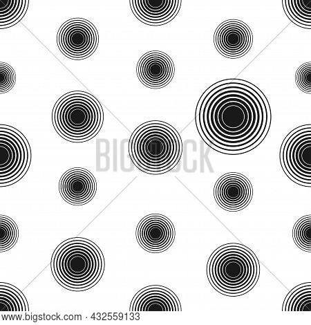 Abstract Seamless Pattern For Web Design. Minimal Geometric Background. Modern Vector Design Element