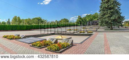 Memorial Of Glory In Tiraspol, Transnistria