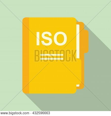Regulation Safety Icon Flat Vector. Policy Rule. Test Law