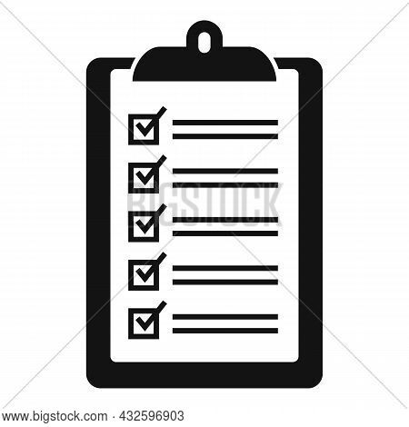 Legal Standard Icon Simple Vector. Quality Compliance. Law Process