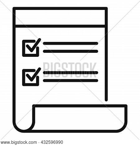 Standard Regulatory Icon Outline Vector. Policy Quality. Iso Law