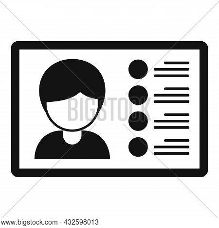 Webinar Stream Icon Simple Vector. Online Broadcast. Web Live
