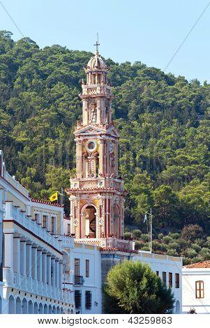 Panormitis Monastery On Island Simi
