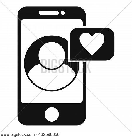 Trust Phone Call Icon Simple Vector. Partner Relationship. Success Call