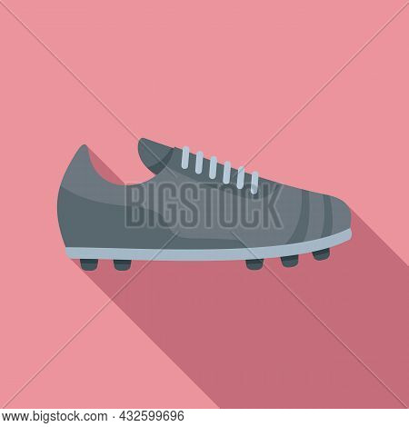 Referee Boot Icon Flat Vector. Soccer Coach. Foul Player