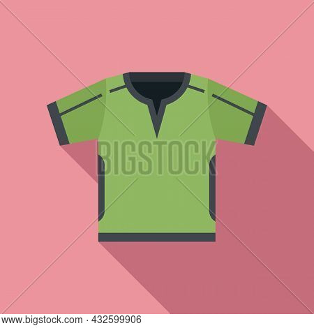 Referee Clothes Icon Flat Vector. Penalty Card. Sport Game