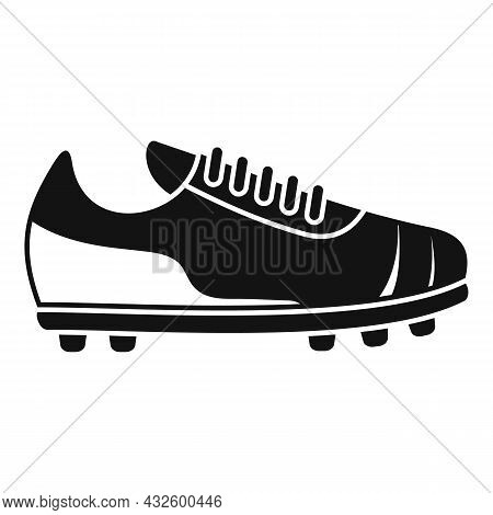Referee Boot Icon Simple Vector. Soccer Coach. Foul Player