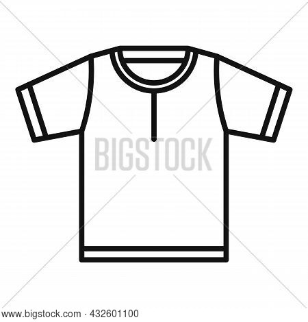 Referee Clothes Icon Outline Vector. Penalty Card. Sport Game