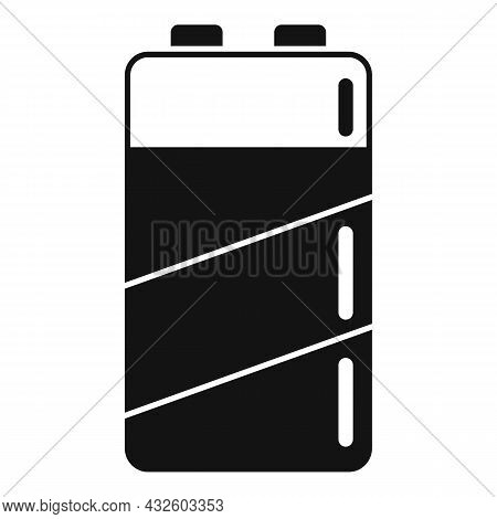 Empty Battery Icon Simple Vector. Charge Battery. Lithium Energy