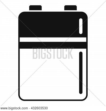 Battery Level Icon Simple Vector. Full Energy. Lithium Power