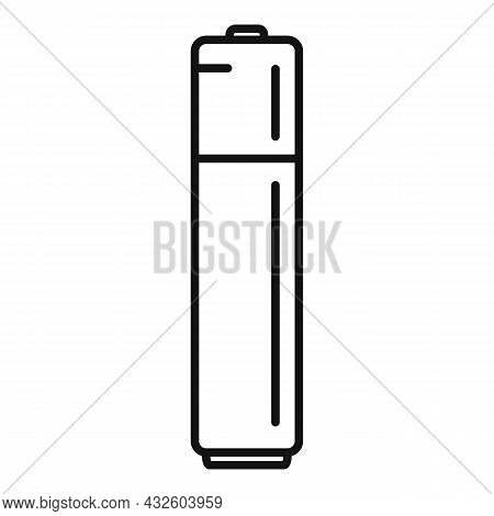 Battery Service Icon Outline Vector. Full Energy. Charge Phone