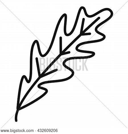 Arugula Icon Outline Vector. Rucola Salad. Leaf Plant