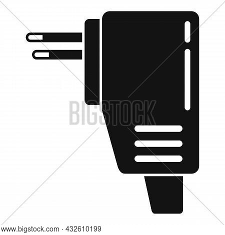 Recharge Mobile Icon Simple Vector. Phone Charger. Cellphone Plug