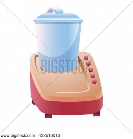 Food Blender Icon Cartoon Vector. Kitchen Mixer. Food Processor Machine