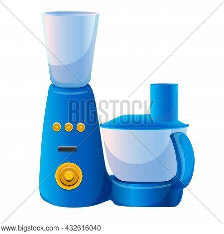 Electric Blender Icon Cartoon Vector. Food Processor. Mixer Machine
