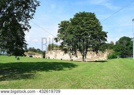 Prussian Fortress Ruin In Koblenz, Fort Asterstein