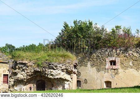 Ruin Of Fort Asterstein In Koblenz, Prussian Fort East Of The Rhine