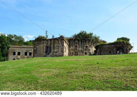 Prussian Fort Asterstein Ruin In Koblenz Above The Rhine