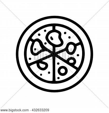 Petri Dish Line Vector Doodle Icon Design