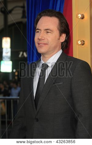 LOS ANGELES - MAR 11:  Michael Bully Herbig arrives at the World Premiere of