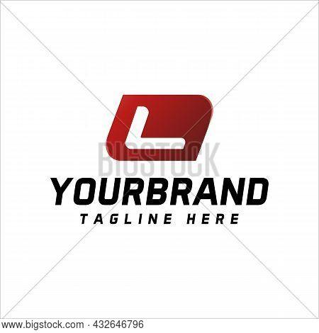Letter L Logo Design On White Background, Vector Illustration