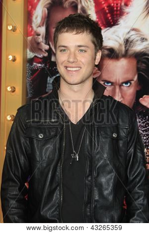 LOS ANGELES - MAR 11:  Jeremy Sumpter arrives at the World Premiere of