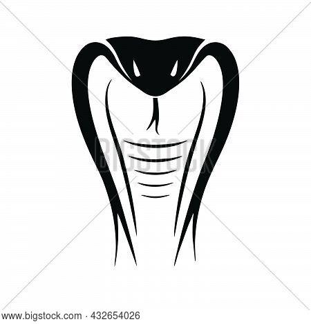 Snake Icon Isolated On White Background . Snake Icon Symbol For Logo, Web