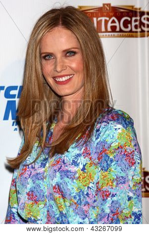LOS ANGELES - MAR 12:  Rebecca Mader arrives at the