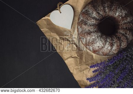 Traditional Homemade Bakery Products. Home Bakery Products. Bakery With Crusty Loaves And Crumbs.  C
