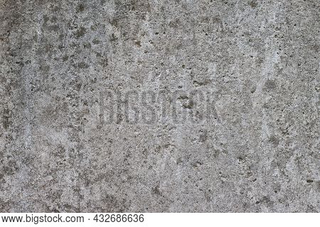 Textures Of Old Cement Floor With Cracks And Rough For Background.